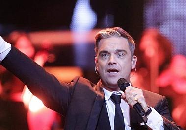 Robbie Williams éhezik
